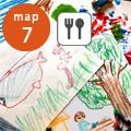 ハルの森は、有田中部小学校のすぐそばにあり、手作りパン・焼菓子・陶器販売や子ども絵画教室、絵画・箱庭セラピー、ヨガ&瞑想会などをおこなってます。期間中は『時をかけるカフェ』として、過去・現在・未来を絵画ワークとISD心理学でタイムトリップします。過去と未来 の自分に出会う旅♪ 喫茶店マロンのコーヒーとケーキ付。